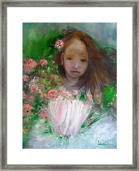 Mary Rosa Framed Print