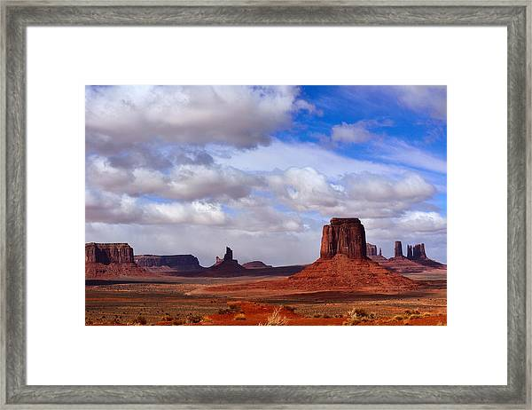 Monument Valley Framed Print