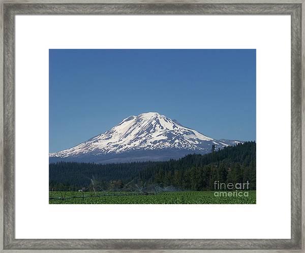 Mt Adams Framed Print
