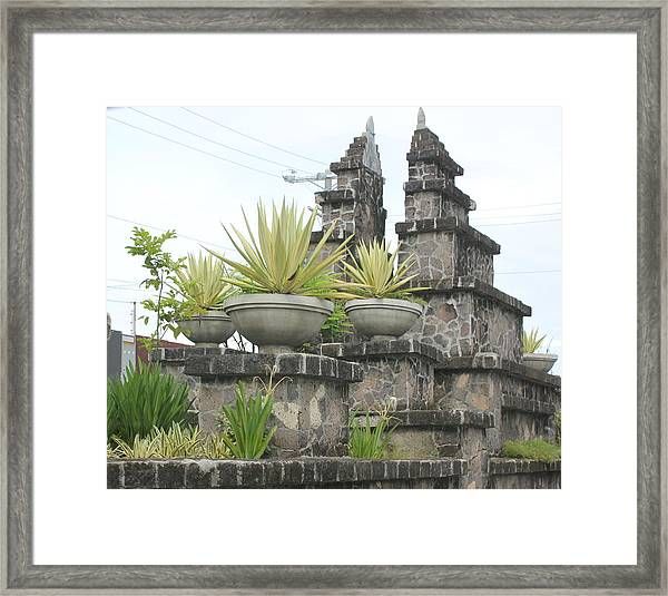 Nusa Dua Framed Print