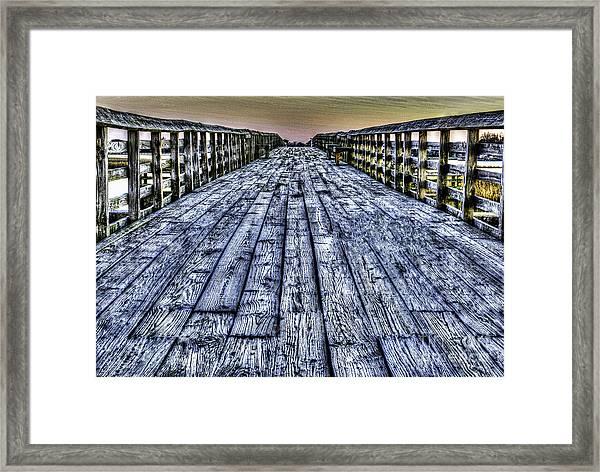 Old Pitt St Bridge Framed Print