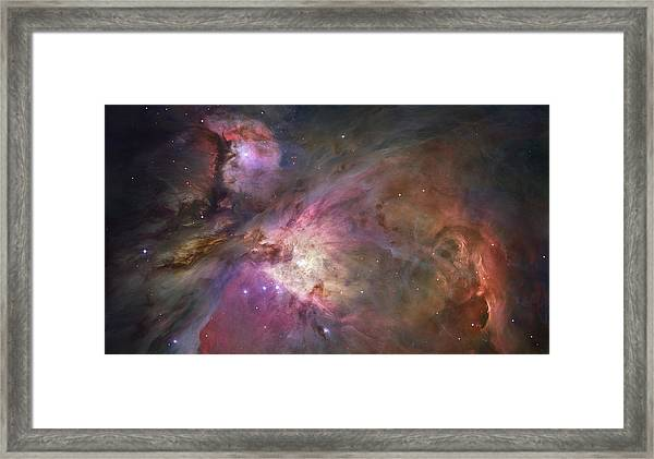 Orion Nebula Framed Print