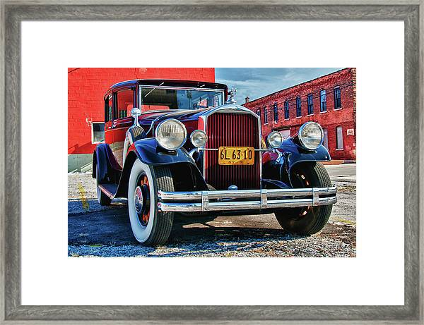 Pierce Arrow 3468 Framed Print