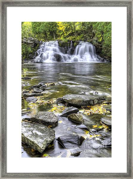 Powerhouse Falls Framed Print by Twenty Two North Photography