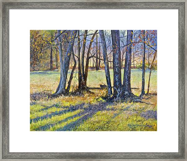Quiet Afternoon Sunset Framed Print