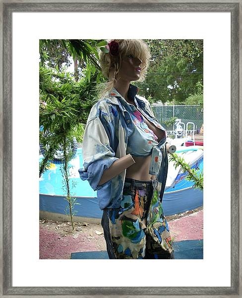 Rags To Riches Framed Print by HollyWood Creation By linda zanini