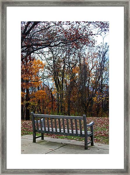 Rest Stop Framed Print