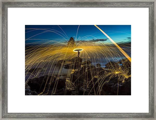 Rodeo Beach Framed Print