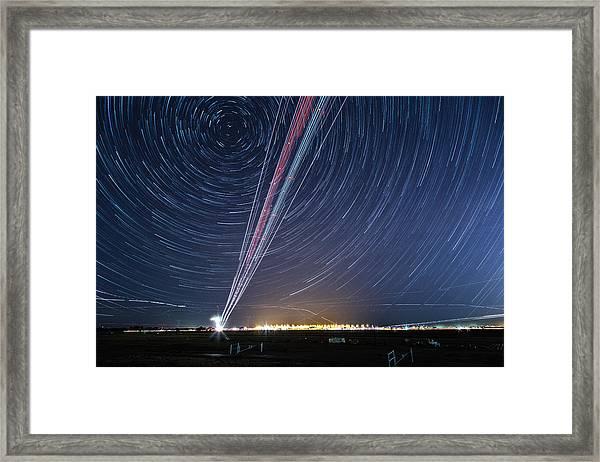 Sacramento International Airport Framed Print