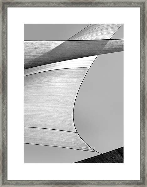 Sailcloth Abstract Number 4 Framed Print