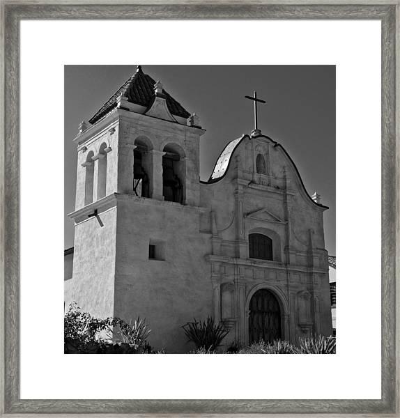 San Carlos Cathedral Framed Print