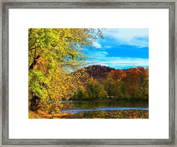 Shenandoah River View Framed Print