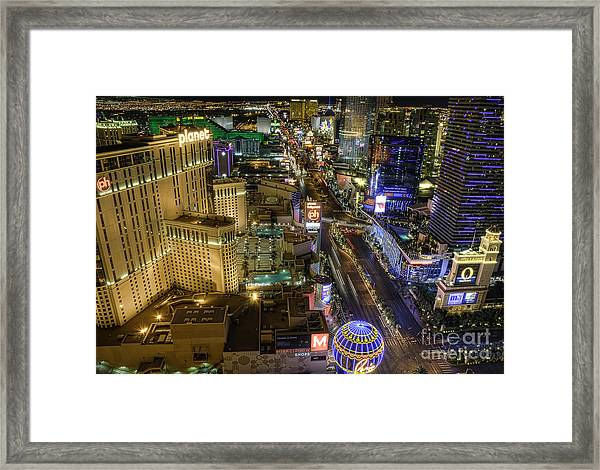 Sin City Framed Print