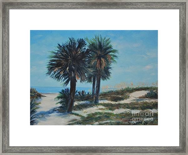Singleton Beach Framed Print
