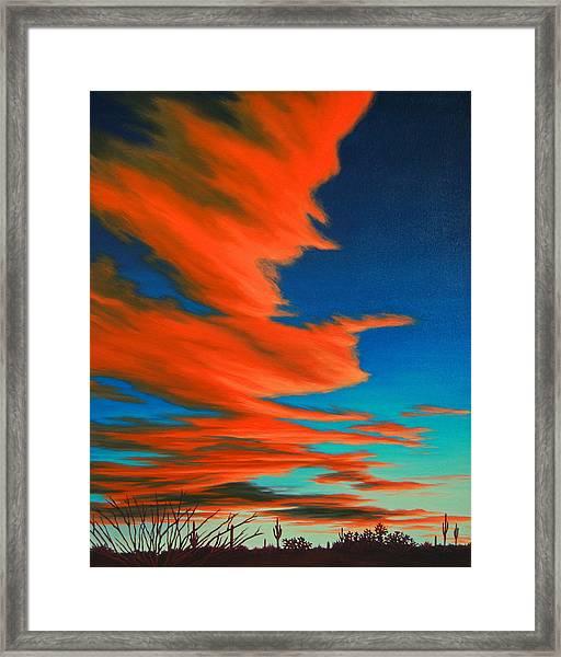 Sonoran Sky Framed Print