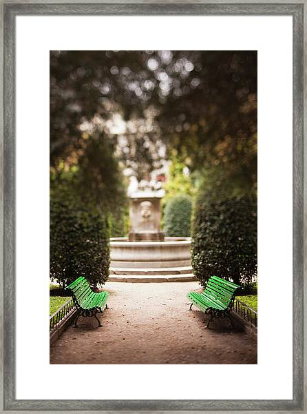 Spain, Madrid, Atocha Area, Centro De Framed Print