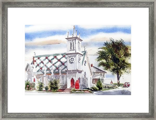 St Pauls Episcopal Church  Framed Print