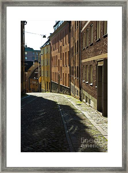 Stockholm Sweden Framed Print by Micah May