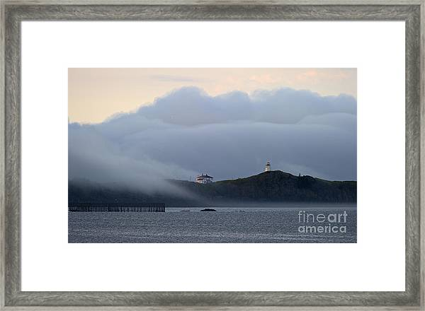 Swallowtail Lighthouse... Framed Print