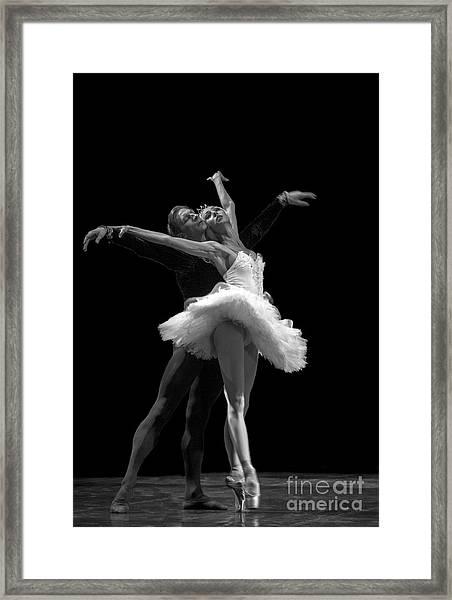 Swan Lake  White Adagio  Russia 3 Framed Print