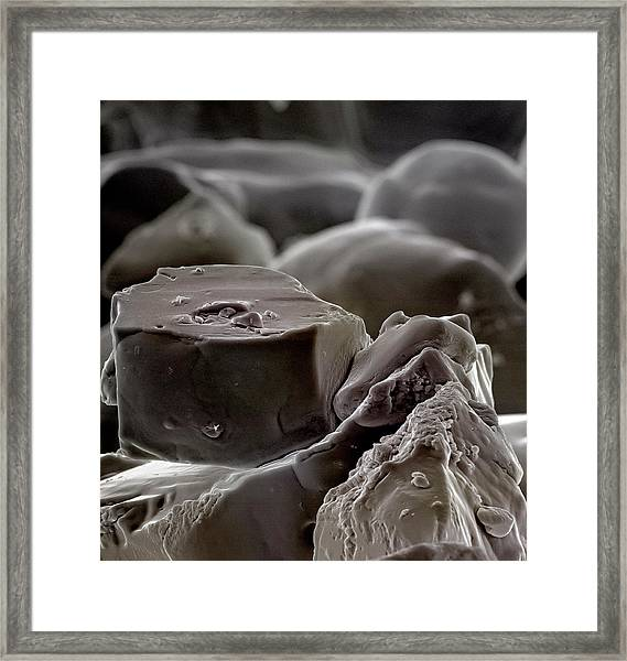 Table Salt Framed Print