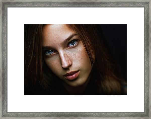 Tanya Framed Print by Zachar Rise