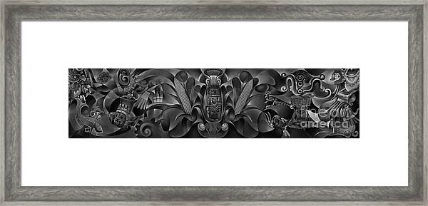 Tapestry Of Gods Framed Print