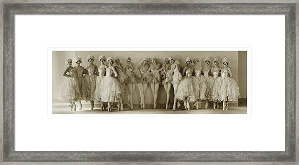 The Albertina Rasch Girls In Rio Rita Framed Print