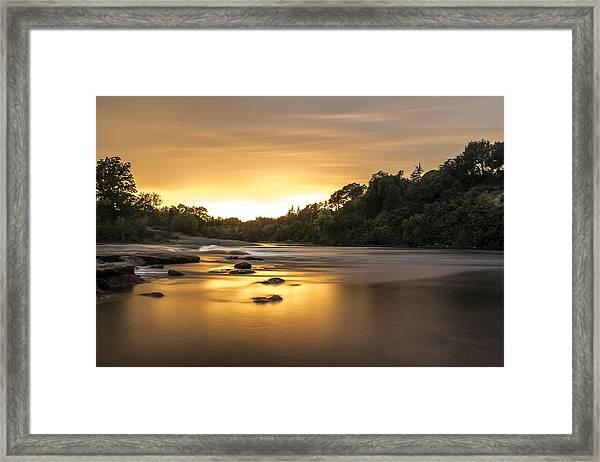 The American River Framed Print