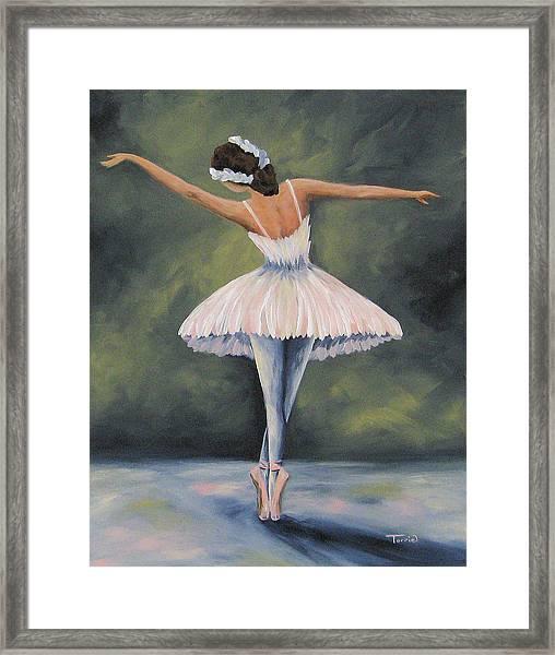 The Ballerina Iv Framed Print