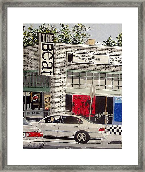 The Beat In Midtown Framed Print by Paul Guyer