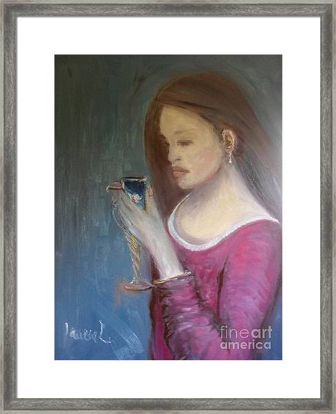 The Chalice Framed Print