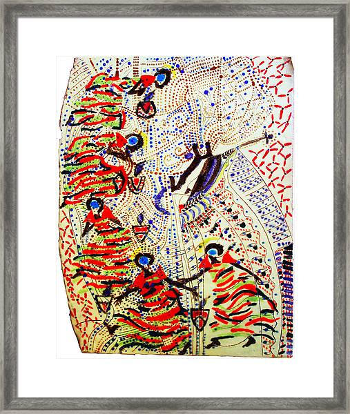 The Five Wise Virgins Framed Print