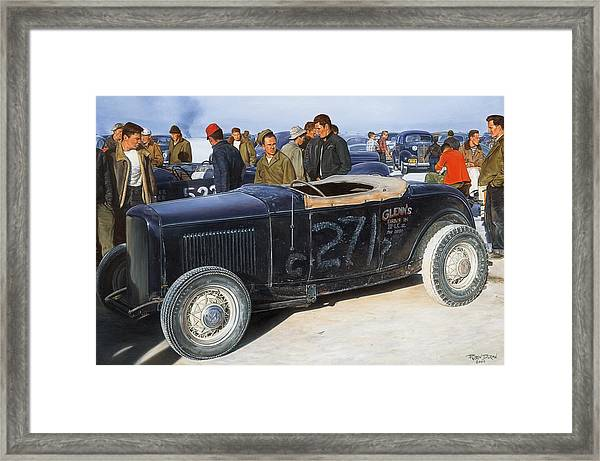 The Frank English Roadster Framed Print