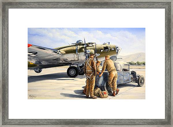 The Gunners Framed Print