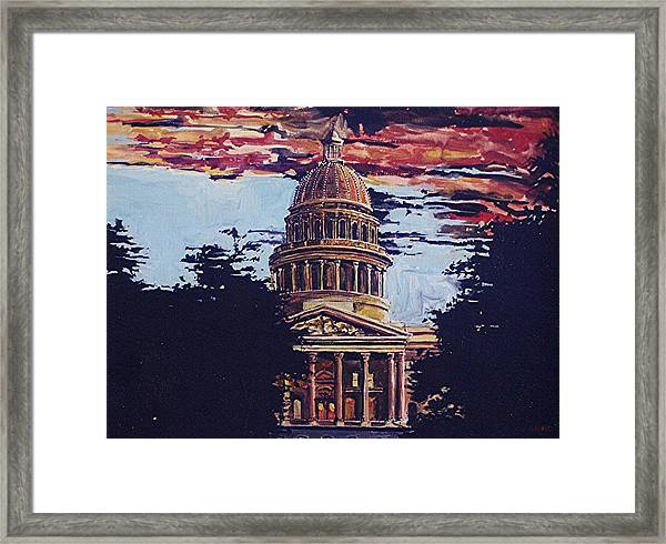 The State Capitol Framed Print by Paul Guyer