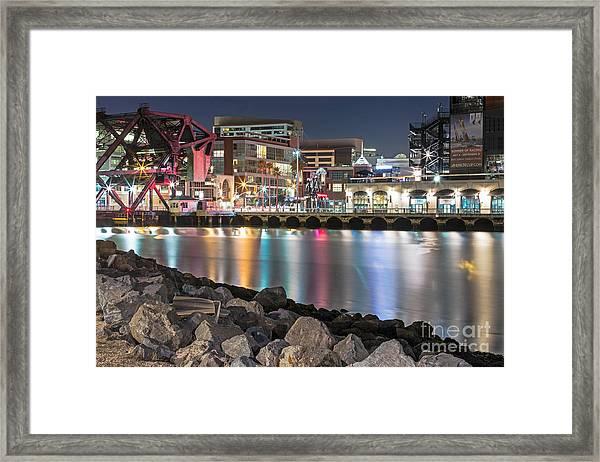 Third Street Bridge Framed Print