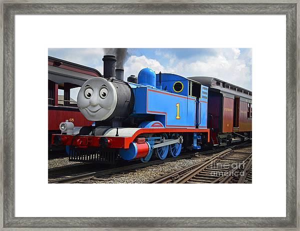 Thomas The Engine Framed Print