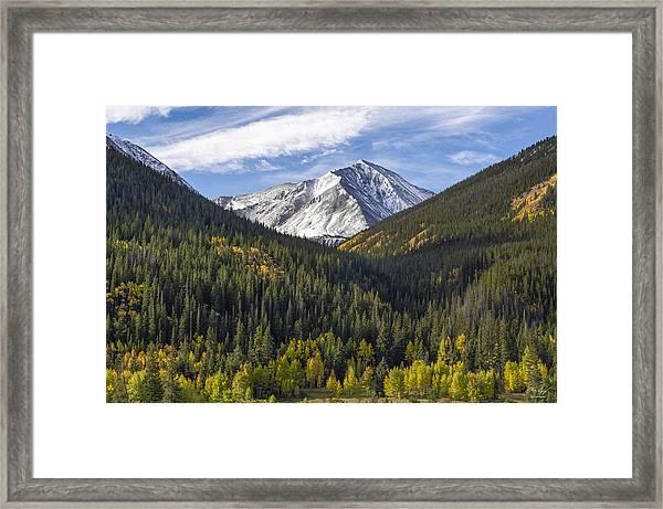 Torreys Peak  Framed Print