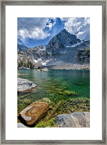 Treasure Lakes Framed Print