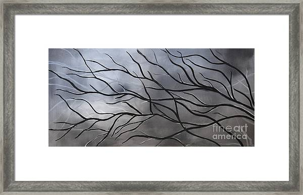 Twilight Tree Framed Print