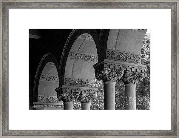 University Of California Los Angeles Royce Hall Framed Print by University Icons