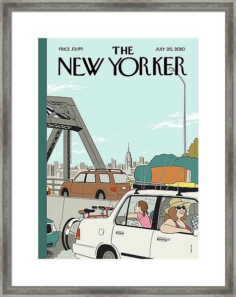 New Yorker July 26th, 2010 Framed Print