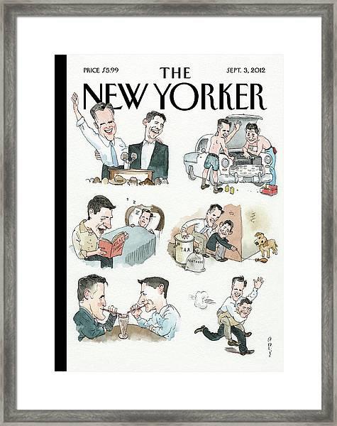 New Yorker September 3rd, 2012 Framed Print by Barry Blitt