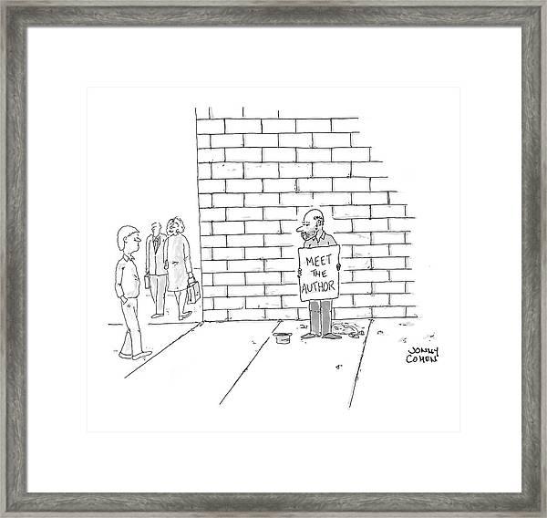 New Yorker November 7th, 2005 Framed Print