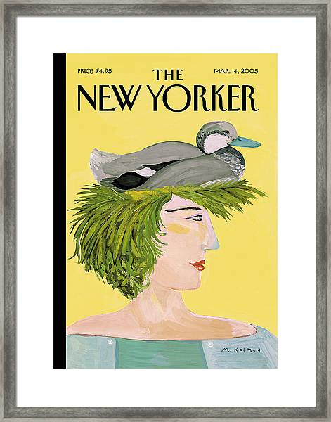 New Yorker March 14th, 2005 Framed Print