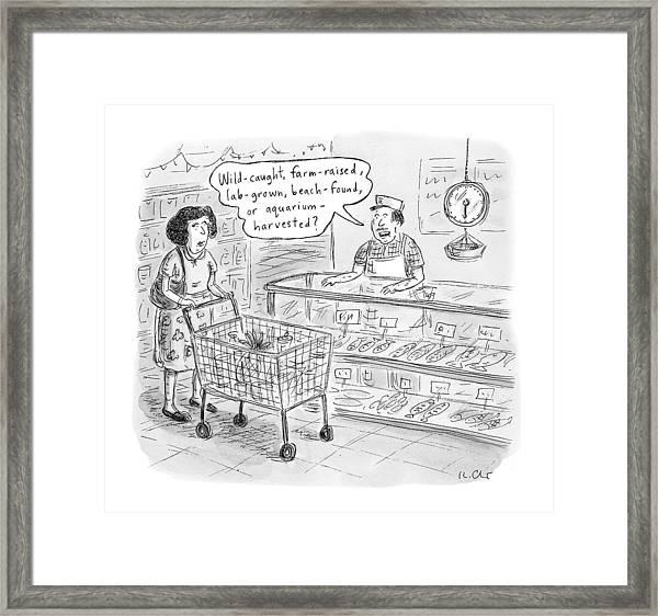 New Yorker November 7th, 2016 Framed Print