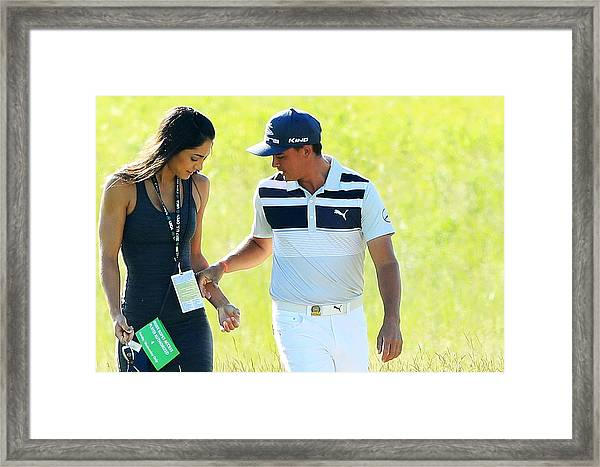 U.s. Open - Preview Day 3 Framed Print by Andrew Redington