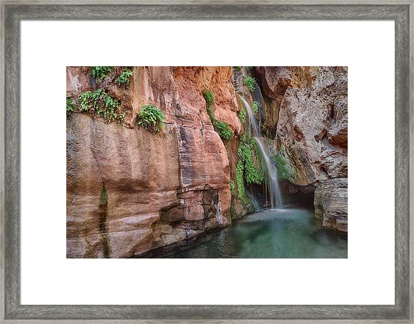Usa, Arizona, Grand Canyon, Colorado Framed Print