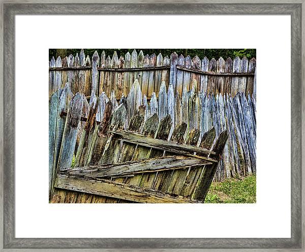 Usa, Virginia, Roanoke, Explore Park Framed Print